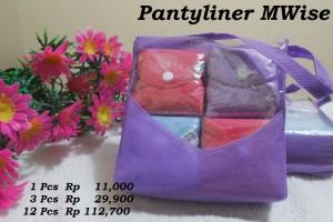 MWise - Pantyliner - Harga